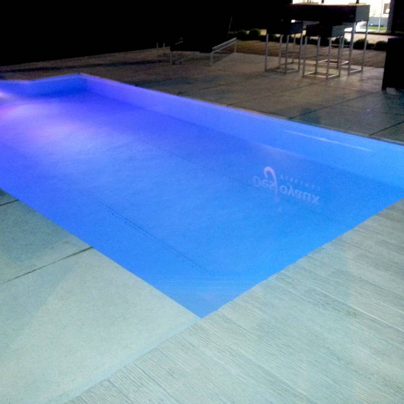 piscina noite